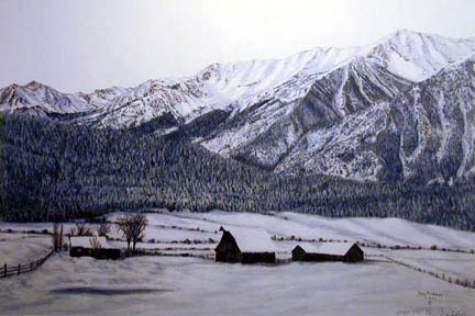 Ranch in Winter